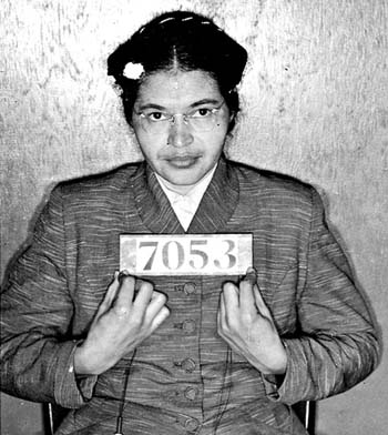 The USA, 1945 - 1975. Rosa Parks and the Montgomery Bus Protest.